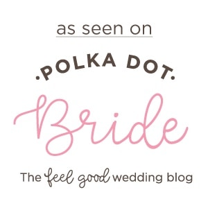 featured in polka dot bride