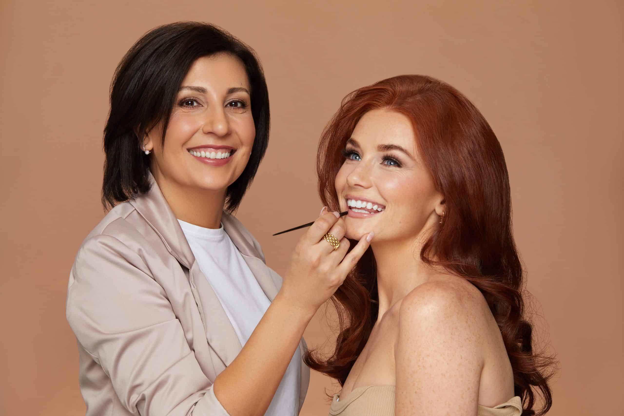 team hair and makeup artist Gladis